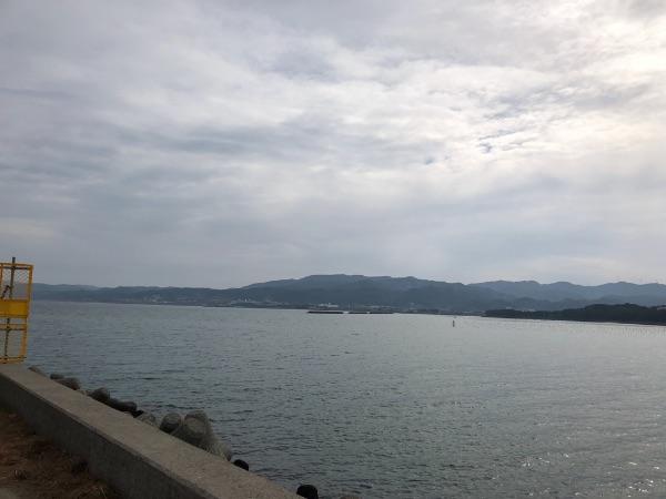 富岡港周辺