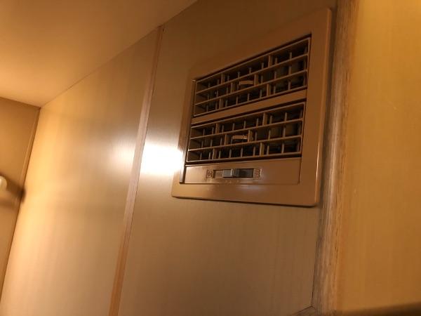 サンライズエクスプレス・ソロ下段の空調設備