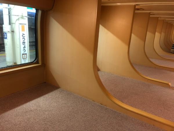 ノビノビ座席の上段