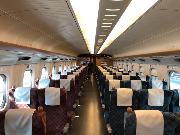 新幹線みずほ・さくらの普通車自由席