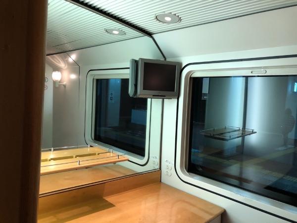 885系電車1号車の多目的スペース1