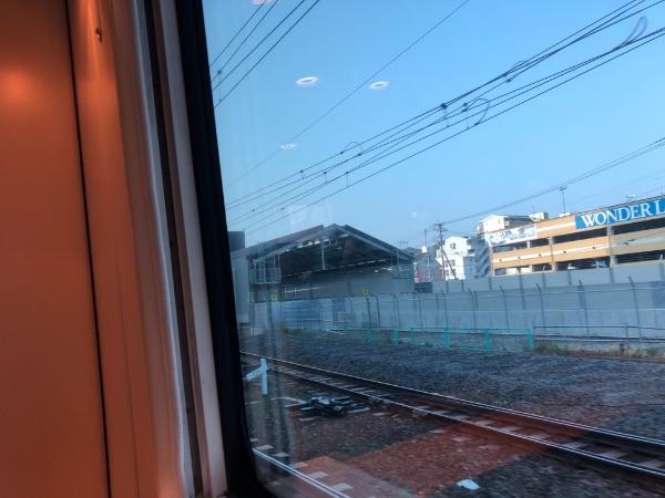 長崎新幹線の諫早駅ホーム