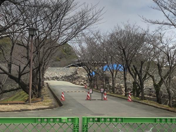 熊本城の西大手櫓門・元太鼓櫓