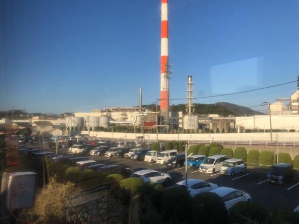 宮崎県延岡市にある旭化成の工場