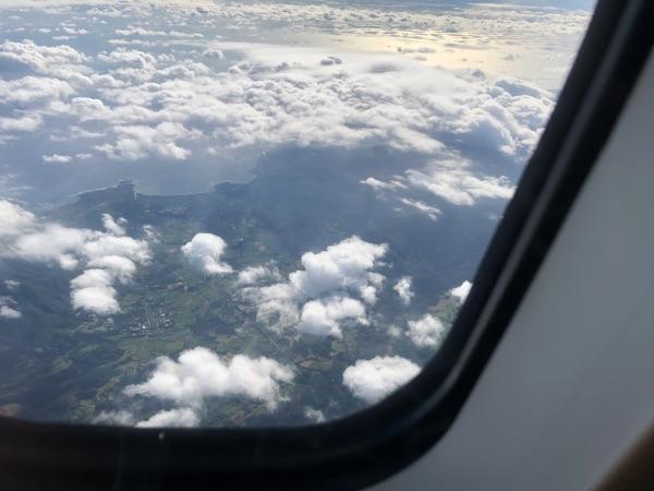 JAC3801便から見た奄美群島